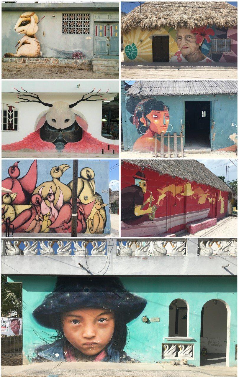 streetart isla holbox