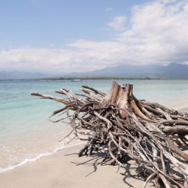 Wegdromen op de Gili eilanden