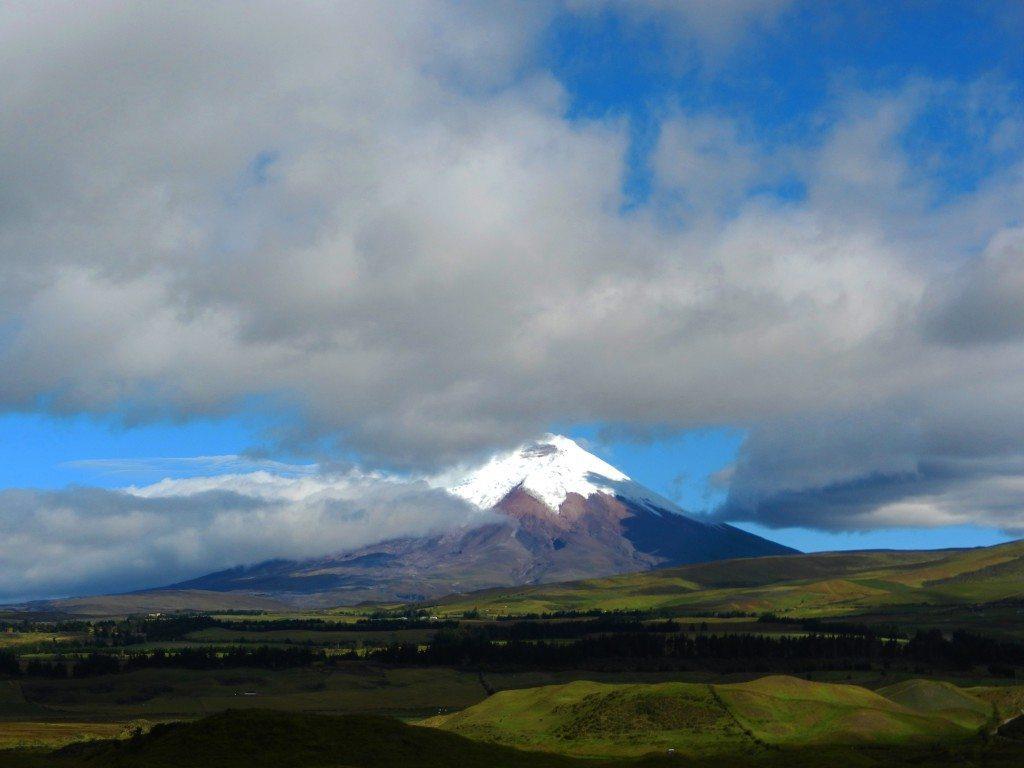 Cotopaxi vulcano, Ecuador