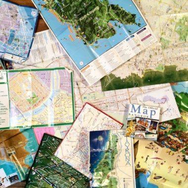 Inspiratie: creatief met oude kaarten