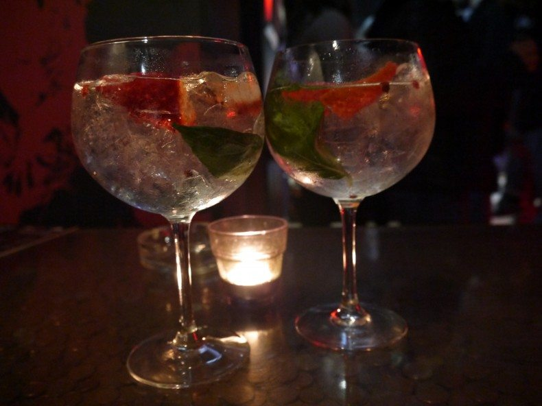 spectaculaire gin-tonic