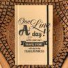 one line a day travel reisdagboekje