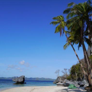 Kamperen op een onbewoond eiland