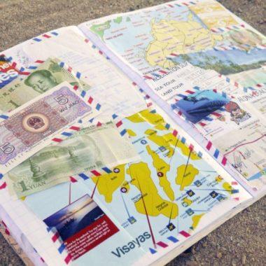 DIY: maak een oldschool plakboek van je reis