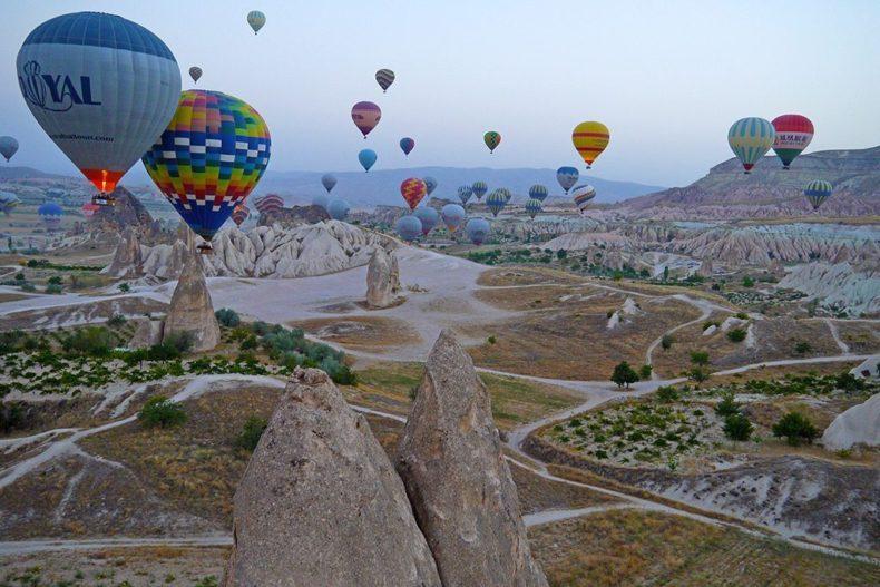 cappadocie ballonvaart