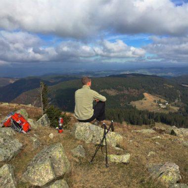 Outdoor-avontuur in de bergen van het Zwarte Woud
