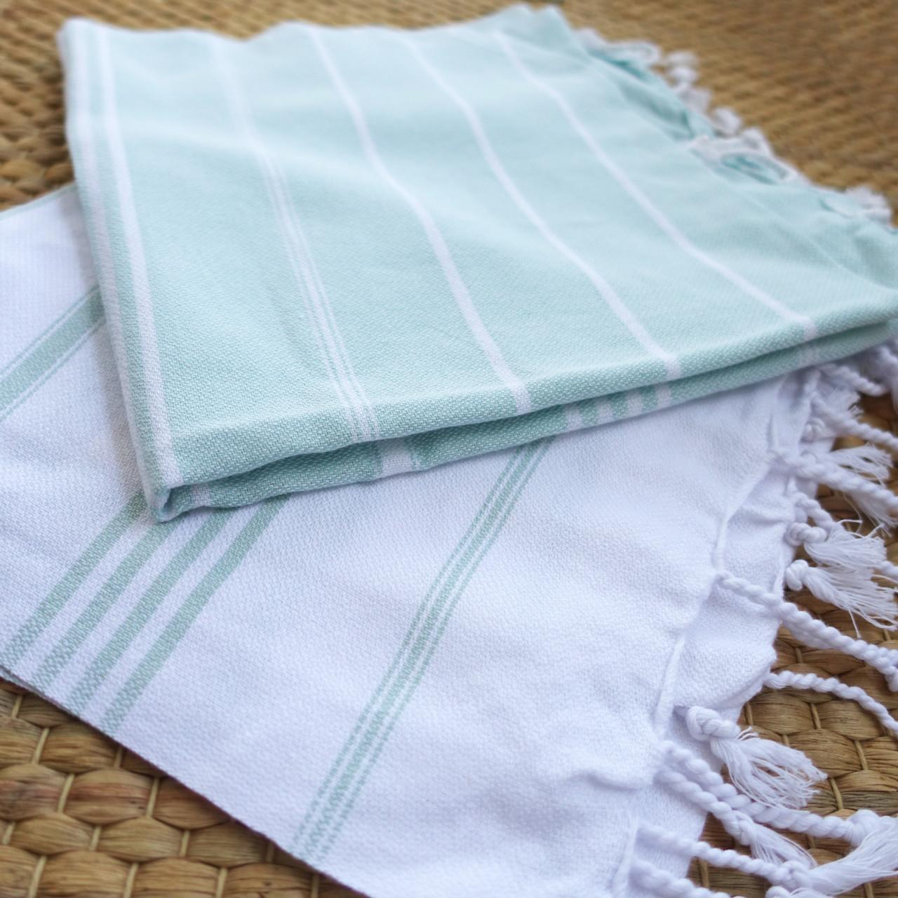 Lichtgewicht handdoek: Set hamamdoeken XS