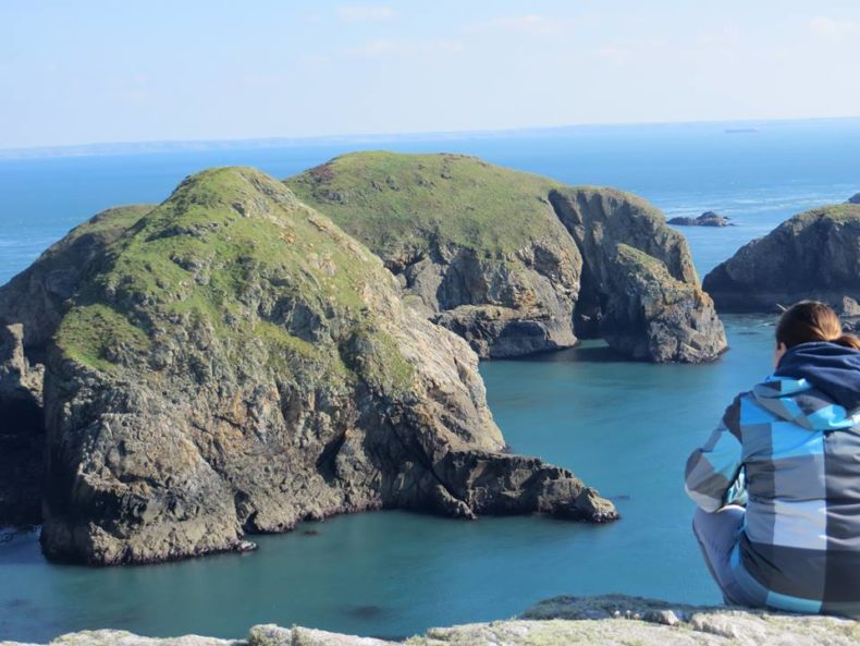 Ramsey Island in Pembrokeshire wales