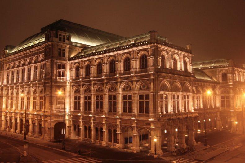 Staatsopera Wenen achterkant