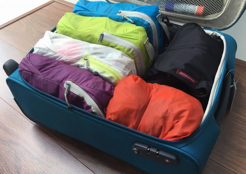 packing cubes koffer