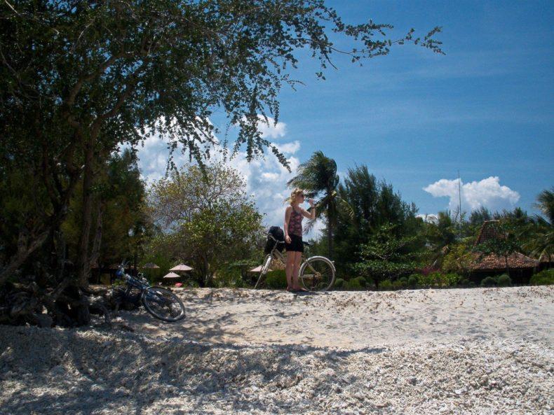 Indonesie-Gili-Air-fietsen-uitzicht