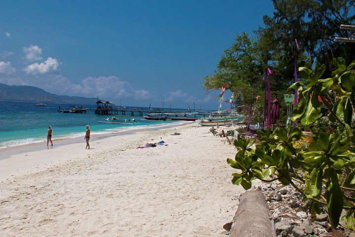 Indonesie-Gili-Trawangan-uitzicht-strand