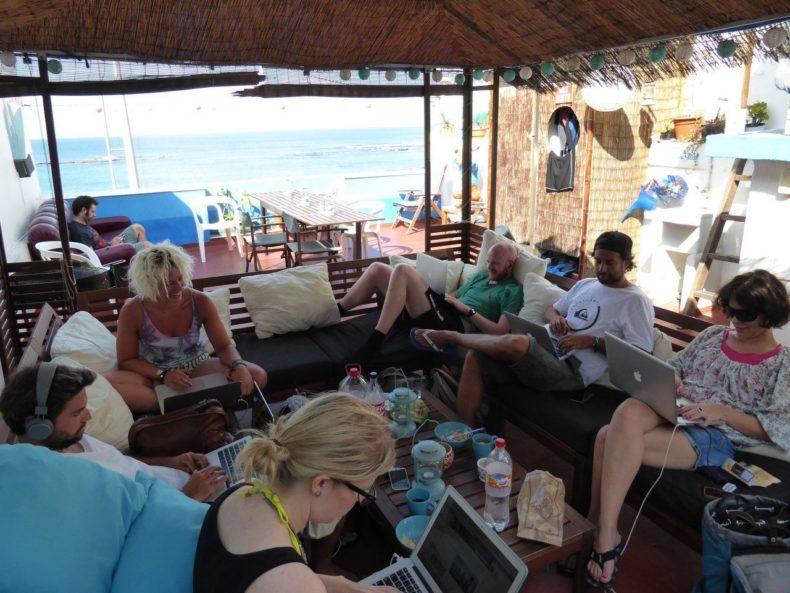digital-nomad-werkplek