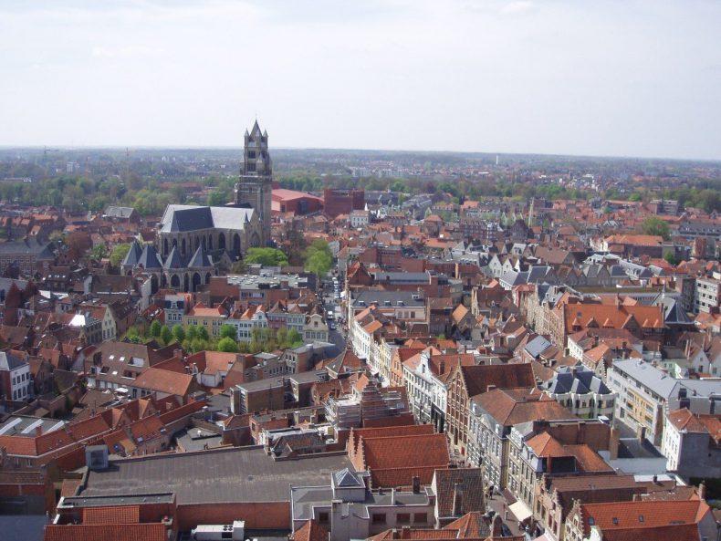Belfort van Brugge Halletoren