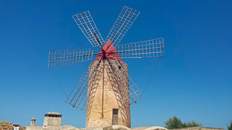 mallorca-windmolen