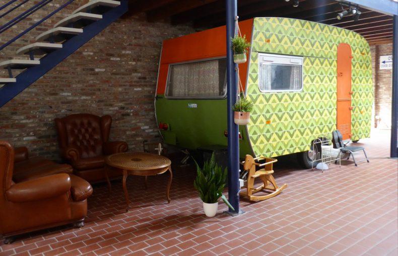 indoorcamping gent caravan