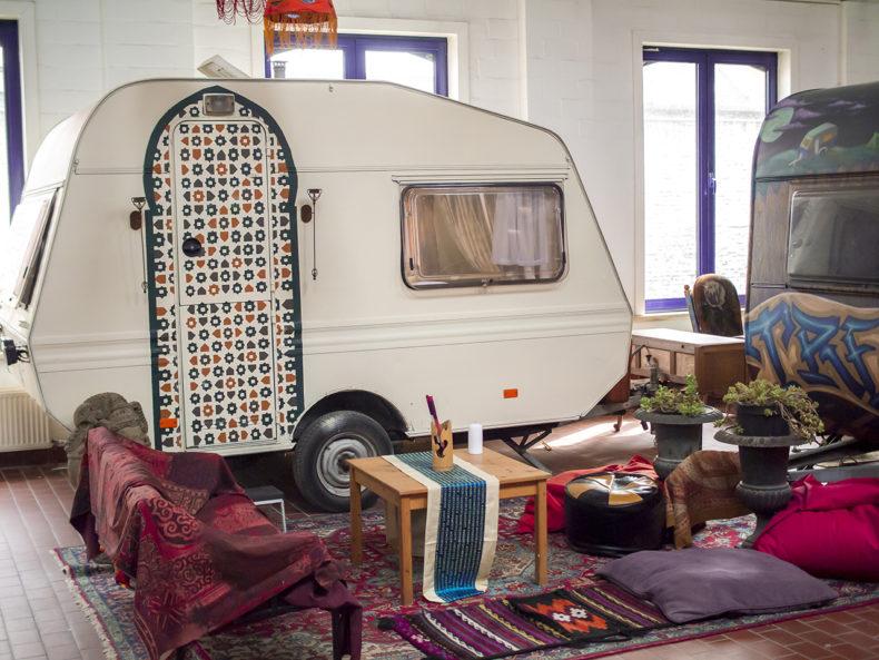 indoorcamping gent zen caravan