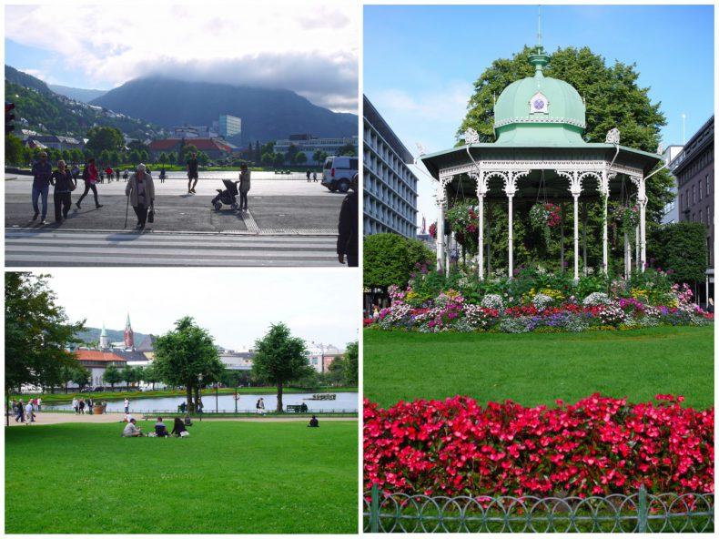 park bergen noorwegen
