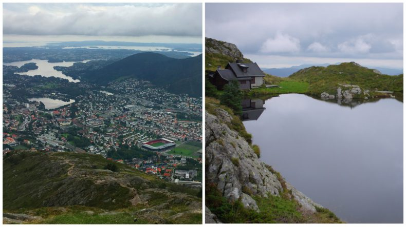 Ulriken kabelbaan Bergen, Noorwegen