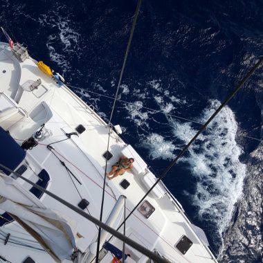 Zo is het om de Atlantische oceaan over te zeilen