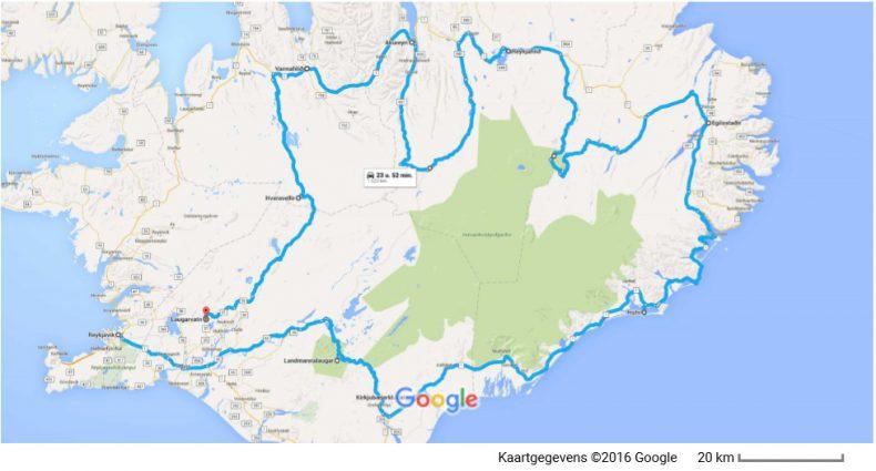 ijsland-route