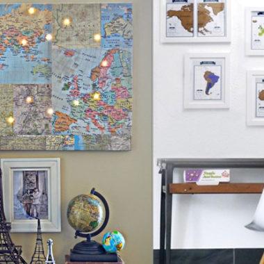 5 Pinterest interieurideeën voor reizigers