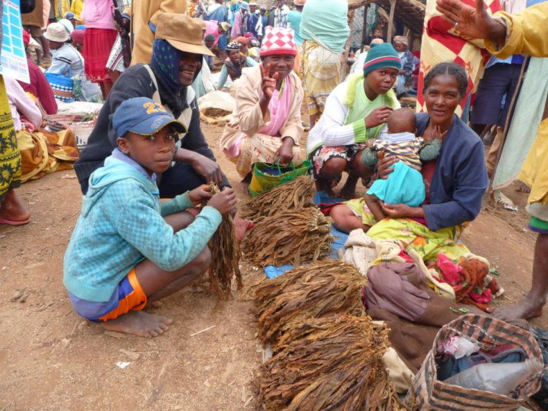 Madagaskar-Markt-Fianarantsoa