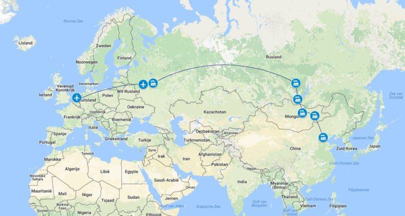 Trans-Siberie-Express-Route-Moskou-Peking