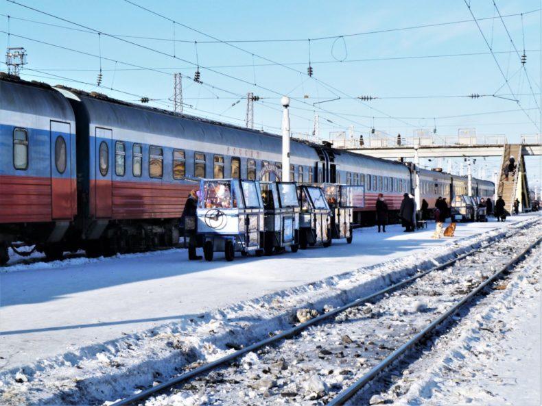 Trans-Siberie-Express-Trein