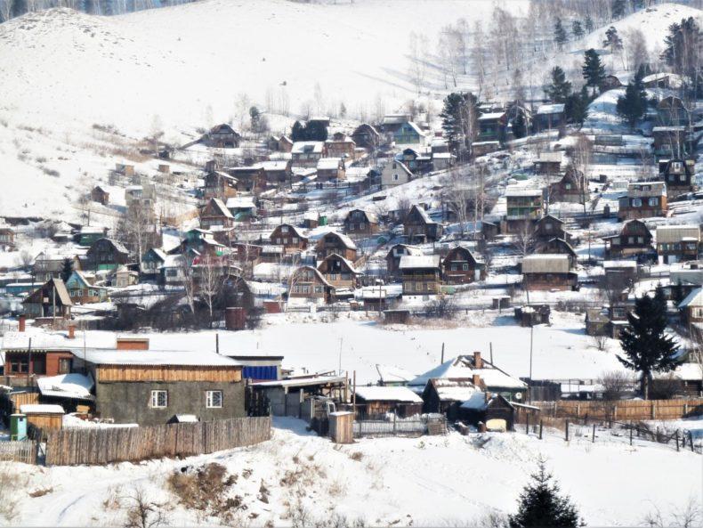 Trans-Siberie-Express-Trein-View