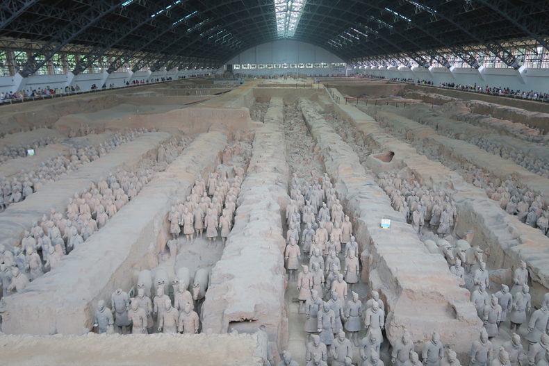 China_Xian_Terracottaleger_Zaal