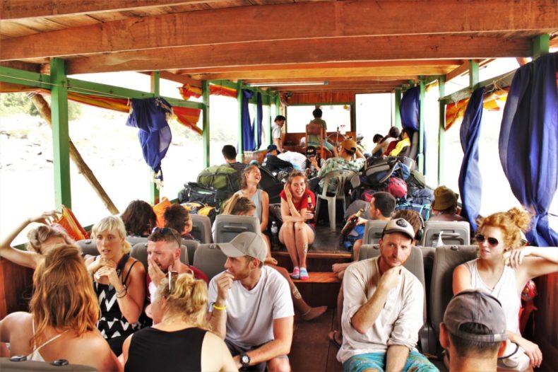 Slowboat_Laos_Luang_Prabang_Ervaring_Boot