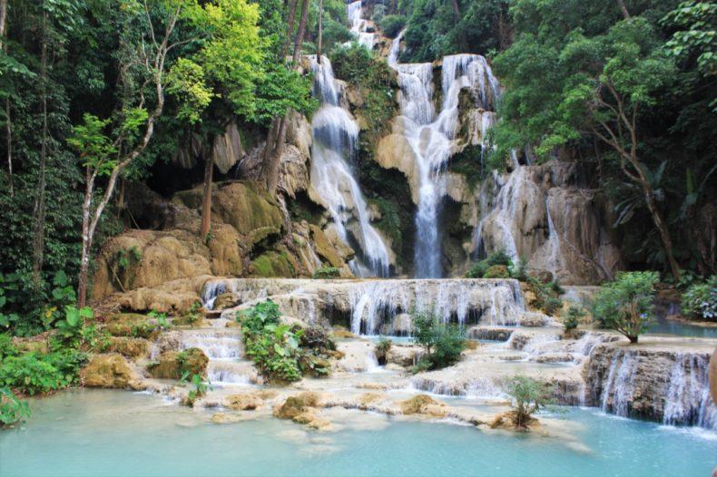 Slowboat_Laos_Luang_Prabang_Ervaring_Waterval_Luang_Prabang