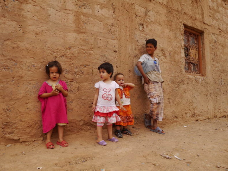 Kinderen Marokko