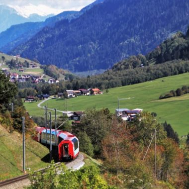 Verken de highlights van Zwitserland per trein
