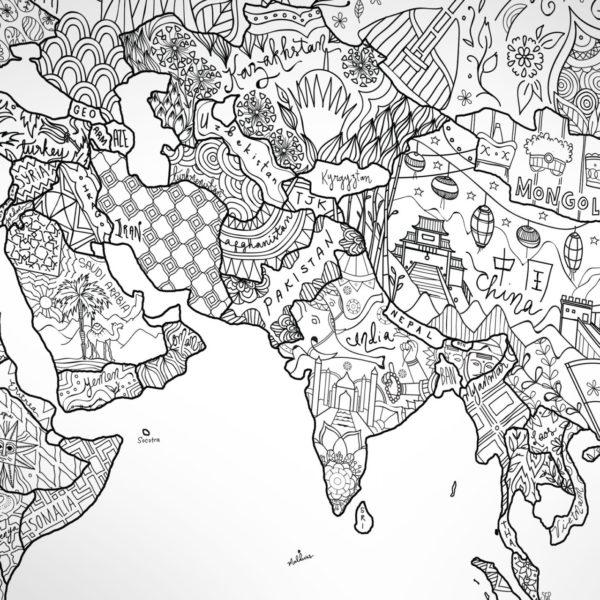 wereldkaart poster kopen dit zijn de allerleukste
