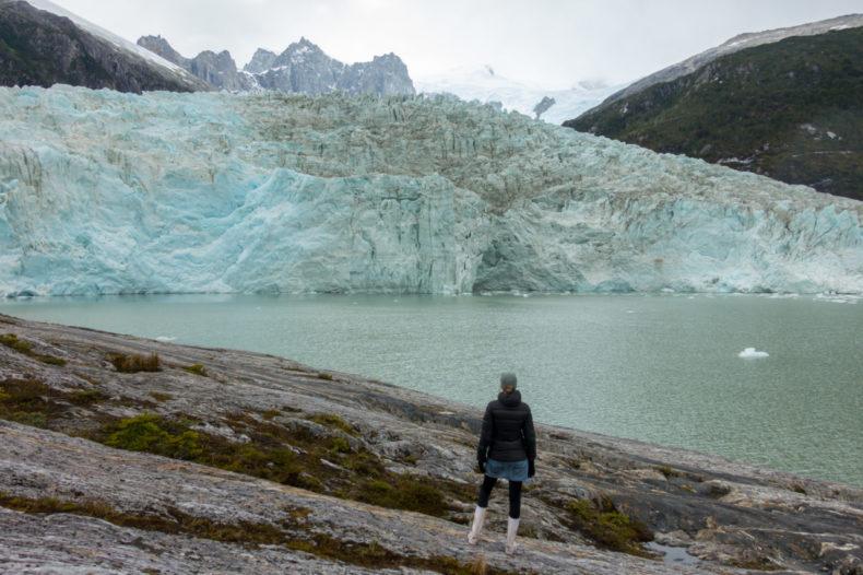 pia glacier vuurland chili