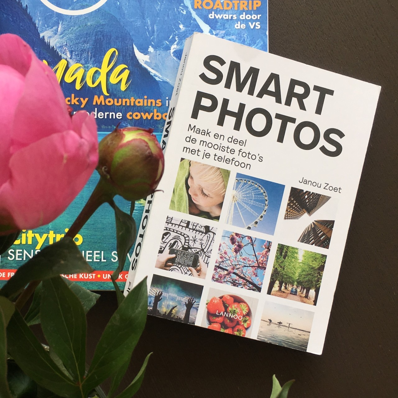 Boek smartphone fotografie