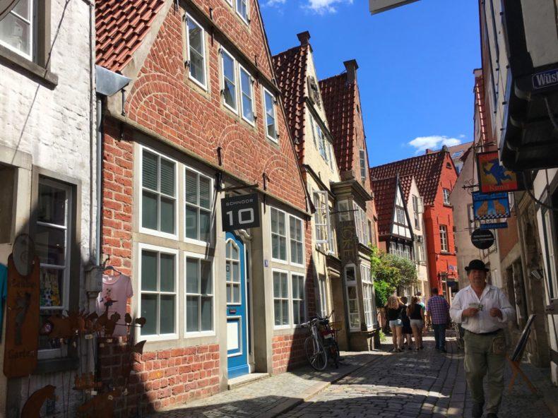 stedentrip Bremen Duitsland schnoor