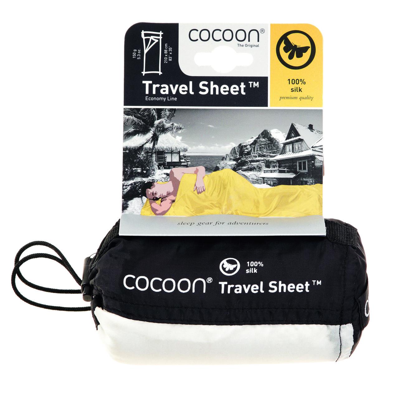 Cocoon lakenzak zijde