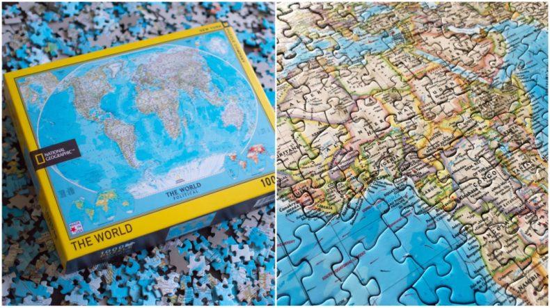 1000-stukjes-puzzel-world