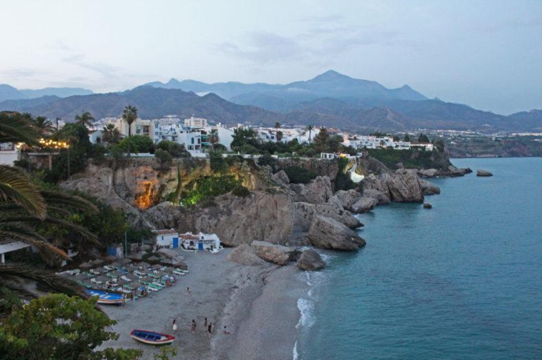 Nerja strand Malaga