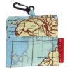 kikkerland wereldkaart waszak