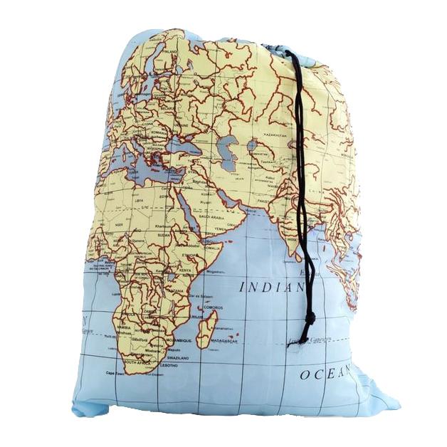 Waszak wereldkaart