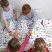 inkleur-placemats-kind-wereld