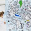 inkleur-wereldkaart-dekbed