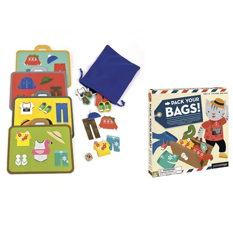 Vakantiespel 'Pack your bags'