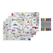placemat-kinderen-wereldkaart