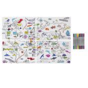 placemat-voor-kinderen-wereldkaart