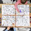 placemats-kind-wereldkaart